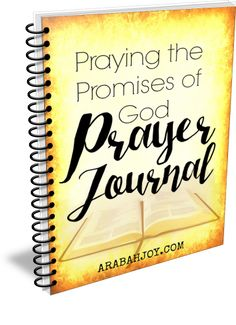Praying the Promises Prayer Journal is here! Click over to grab a copy of this prayer journal (it's free!)