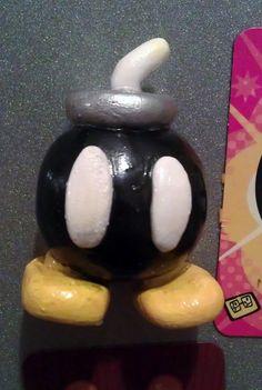 Bobomb Black magnet by TokyoChan on Etsy, £3.00