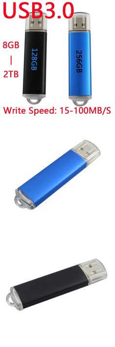 Fast Speed Black Blue Memoria USB Flash Drive 64GB USB 3.0 Pen Drive 16GB 64GB 32GB Memory Stick Hard Disk On Key 1TB 2TB 128GB