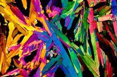 suco de laranja visto no microscópio misteriosdomundo.org