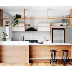 Open Plan Retro-inspired Kitchen Reno | HOMES TO LOVE