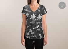Check out the design Flowers in Chalk... by NDTank on Threadless