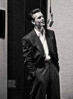 """homme–models: """" Benjamin Eidem for GQ Spain, ph. by Sergi Pons """""""