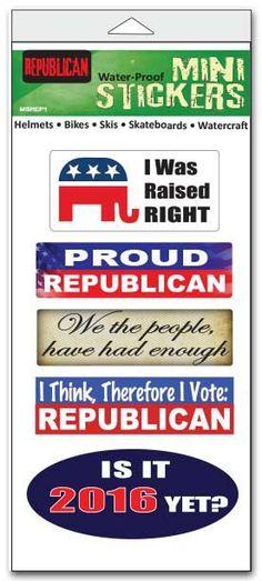 Republican Pack Vinyl Stickers
