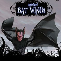 Extreme Bat Wings Demon Vampire Dracula Halloween Prop - The Holiday Store
