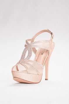 High Heel Platform Sandal with Mesh Upper VICE-254 Prom Shoes 3287e5b5351d