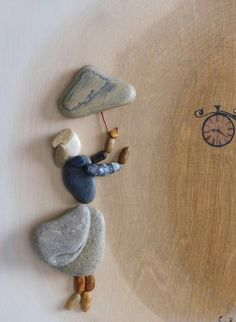 Stone Crafts, Rock Crafts, Arts And Crafts, Rock Sculpture, Sculptures, Pebble Art Family, Sea Crafts, Stone Art, Rock Art