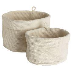 LIDAN Basket, set of 2 - IKEA $10. | storage for kid stuff in family room