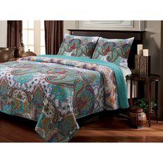 Bungalow Rose Sloten Quilt Set Size: Full / Queen