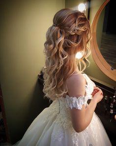 Brautfrisuren und Make-up-Modelle 2017 www.basakkuaforma - New Site - frisuren - Brautfrisuren und Make-up-Modelle 2017 www.basakkuaforma – New Site Bridal hairstyles and make-up models 2017 www. Sweet 16 Hairstyles, Quince Hairstyles, Formal Hairstyles, Bride Hairstyles, Updo Hairstyle, Bridal Hair And Makeup, Hair Makeup, Quinceanera Hairstyles, Hair Styles For Quinceanera