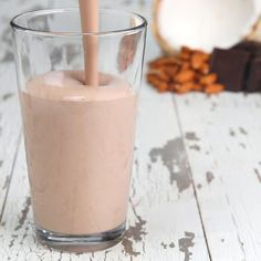 Chocolate Almond Coconut Protein Smoothie Recipe by Tasty