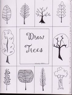 more ways to draw trees