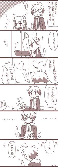 Neko kirigiri and makoto