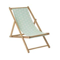 Zahradní lehátko Mint chair | Nordic Day House Doctor, Outdoor Chairs, Outdoor Furniture, Outdoor Decor, Island Park, Mint, Outdoor Living, Wood, Design