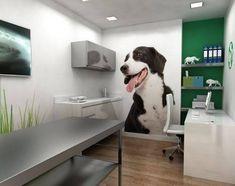 Clinic Interior Design, Clinic Design, Pet Shop, Puppy Room, Dog Spa, Medical Office Design, Pet Hotel, Pet Resort, Dog Grooming Business