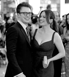 "Hayley Atwell, on Chris Evans: ""He's very hygienic. He always smells very good."""