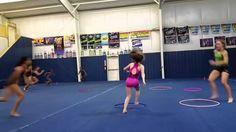 Musical Hoola Hoops Game (Gymnastics/Fitness/Kids)
