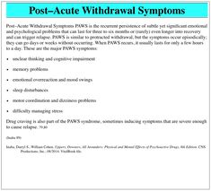 Worksheet Post Acute Withdrawal Syndrome Worksheet posts relapse and the ojays on pinterest post acute withdrawal symptoms