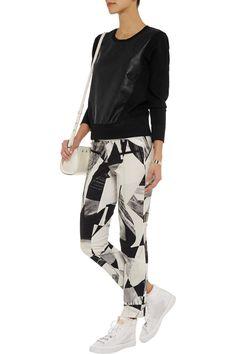 34-Helmut-Lang-women-s-leather-paneled-stretch-ponte-sweatshirt-2.jpg (920×1380)