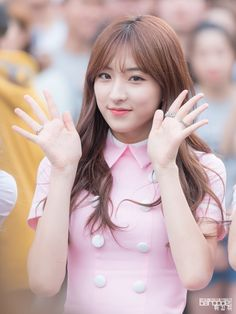 WJSN - Eunseo #은서 (Son Juyeon #손주연) Shinchon guerilla performance 160910 #우주소녀 신촌 게릴라 공연