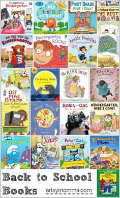 Back to School Books for Kindergartners and 1st Graders