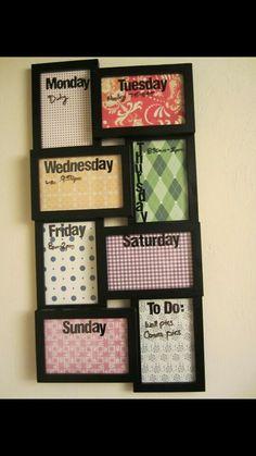 DIY crafts to do list