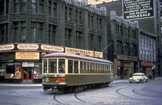 Rue Bleury, Montréal, autrefois