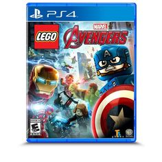 Lego Marvel's Avengers For Xbox 360 Very Good Lego Marvel's Avengers, Lego Marvel Super Heroes, Xbox 360, Playstation, Ps4, Avatar, Xbox One Video Games, Avengers Tattoo, Die Rächer