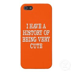 A History of Being Cute Cover For iPhone 5