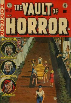 Cover for Vault of Horror (1950 series) #33