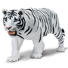 White Siberian Tiger Wildlife Wonders Safari Ltd - Radar Toys