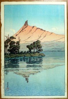 1934 - Hasui, Kawase - Onuma Park in Hokkaido