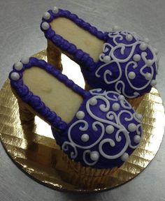 """Cup cakes zapatillas """"mujer vanidosa"""""""