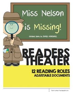 Miss Nelson is Missing Readers Theater Script