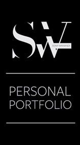 SW Personal Portfolio by Sony Wanandi, via Behance