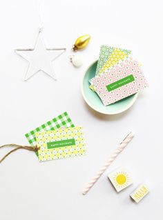 Friday DIY roundup: Holiday gift tag printables