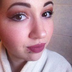 Ariana Grande inspired makeup #makeup #arianagrande #mattelips #anastasiabeverlyhills