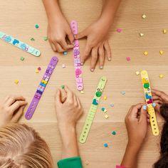 LEGO DOTS Bracelet Mega Pack DIY Creative Craft Bracelet-Making Kit For Kids 41913 : Target Yarn Crafts For Kids, Diy Crafts For Adults, Lego Mosaic, Cute Friendship Bracelets, Buy Lego, Mega Pack, Indoor Activities For Kids, Custom Lego, Kits For Kids