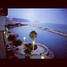 Utsikt från fasters balkong #altea  @cramen71