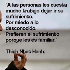 Thich Nhat Hanh, Fear Of The Unknown