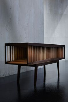 'Interior' credenza / emerging WA designer & maker Brendan Jurich