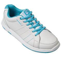 dbf21aa90c8 Brunswick Ladies Satin Bowling Shoes WhiteAqua 7 12 M US WhiteAqua     To  view