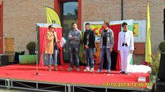 I quattro finalisti sul palco...chi sarà nominato vincitore?