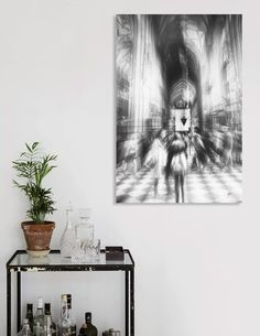 Discover «street photo Sacrum», Numbered Edition Canvas Print by Justyna Jaszke - From $49 - Curioos