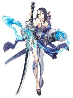 Anime Warrior, Warrior Girl, Fantasy Warrior, Fantasy Character Design, Character Design Inspiration, Character Art, Fantasy Characters, Female Characters, Anime Characters