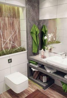small bathroom furniture Small Bathroom Furniture, Small Full Bathroom, Green Bathroom Decor, Tiny Bathrooms, Bathroom Design Small, Bathroom Layout, Simple Bathroom, Beautiful Bathrooms, Bathroom Interior