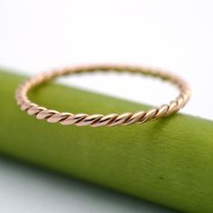 1.5mm rose gold wedding band ..... for the stacking I'm planning on doing representing my children and anniversaries