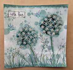 Love the idea of sponging the background of the flowers . Will try that. The crafty ramblings of Kay Carley - freelance card making tutor/demonstrator, regular contributor to UK paper crafting magazines and a PaperArtsy Signature Guest Designer.
