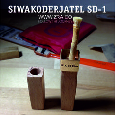 This is what we do at Zahra - premium quality miswak holders and we call them by one word - siwakoderjatel. Our current model is SD-1. More info on our web site www.zra.co.  #siwakoderjatel #sd1 #siwak #zahra #miswak #oralcare