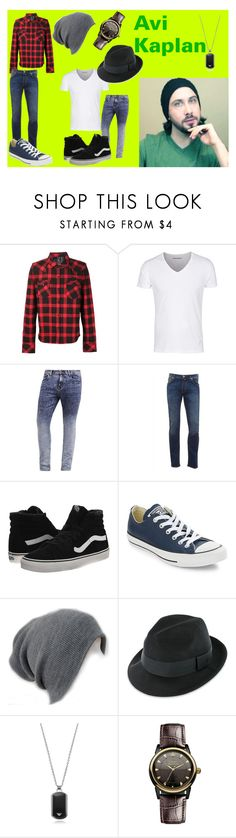 """""""Avi Kaplan"""" by klb12-love on Polyvore featuring Jacob Cohёn, Vans, Converse, Emporio Armani and Vivienne Westwood"""